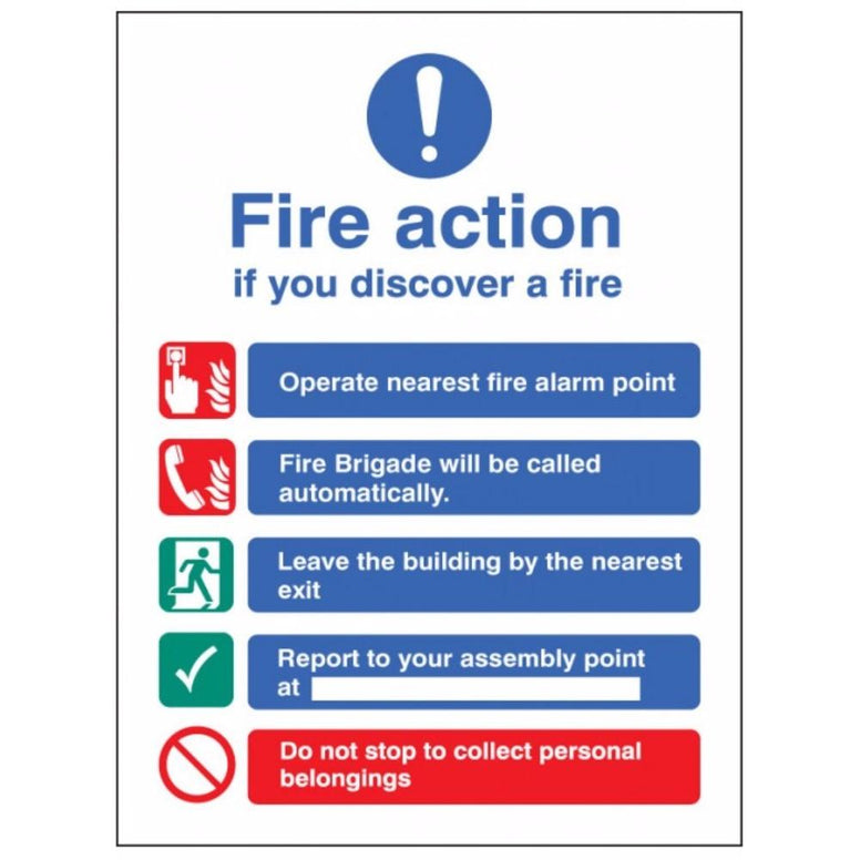 Fire action auto dial without lift sign from Floorsaver