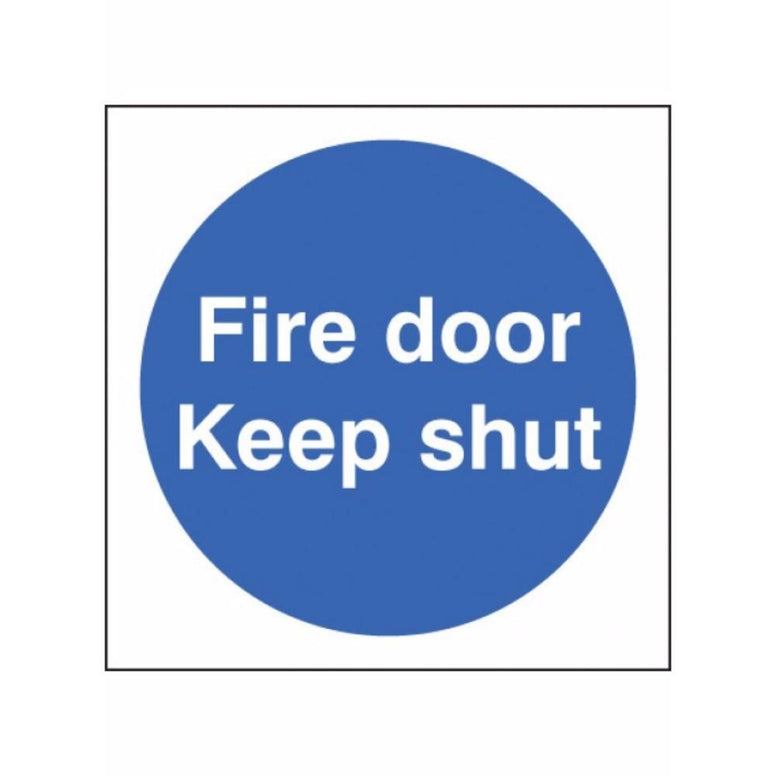 Fire door keep shut sign from Floorsaver