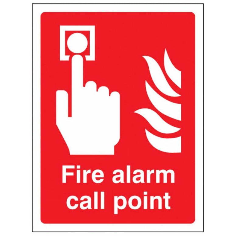 Fire alarm call point sign from Floorsaver