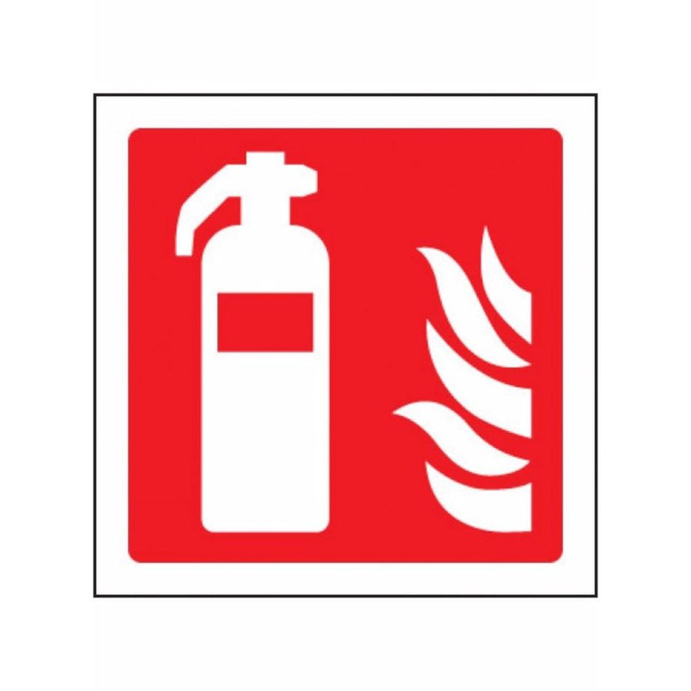 Fire extinguisher symbol sign from Floorsaver