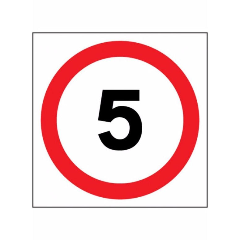 5 mph sign from Floorsaver