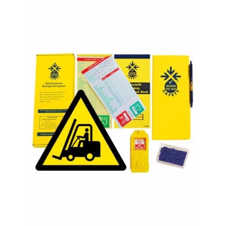 Good to go safety forklift weekly kit from Floorsaver