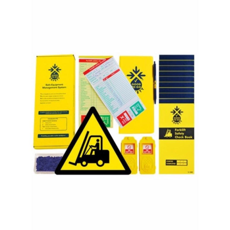 Good to go safety forklift daily kit from Floorsaver