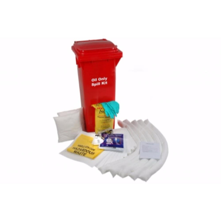 Oil Only Wheeled Spill Kit from Floorsaver