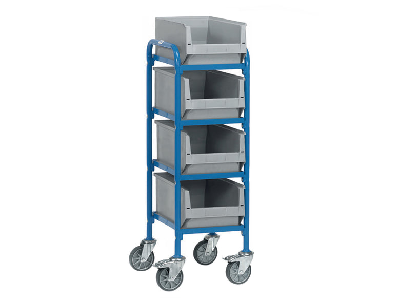 Storage Box Container Trolley