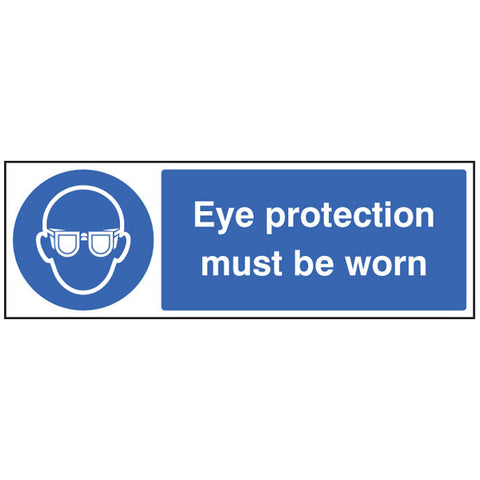 Eye Protection Quick-Fix Sign