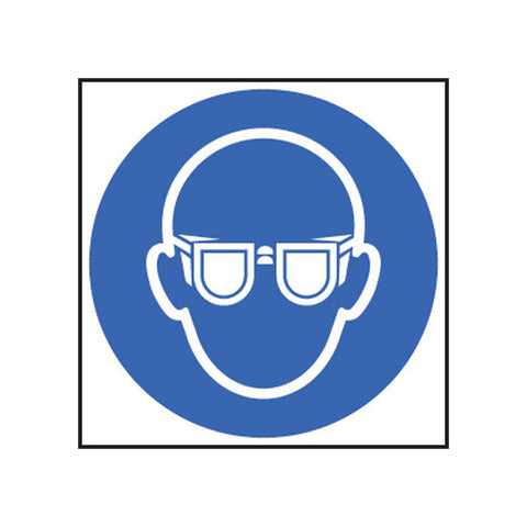 Eye Protection Symbol Sticker
