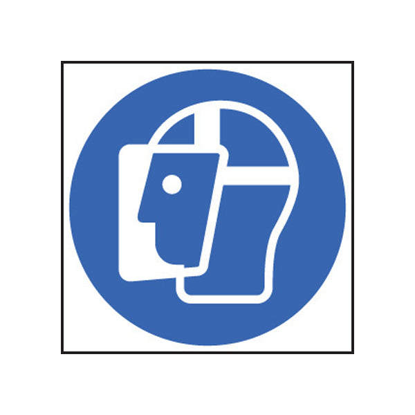 Face Shield Symbol Sign