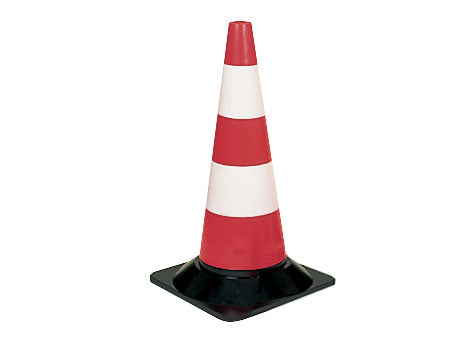 500mm Lightweight Cone Red and White