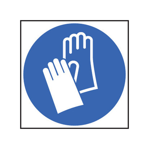 Hand Protection Symbol Sign