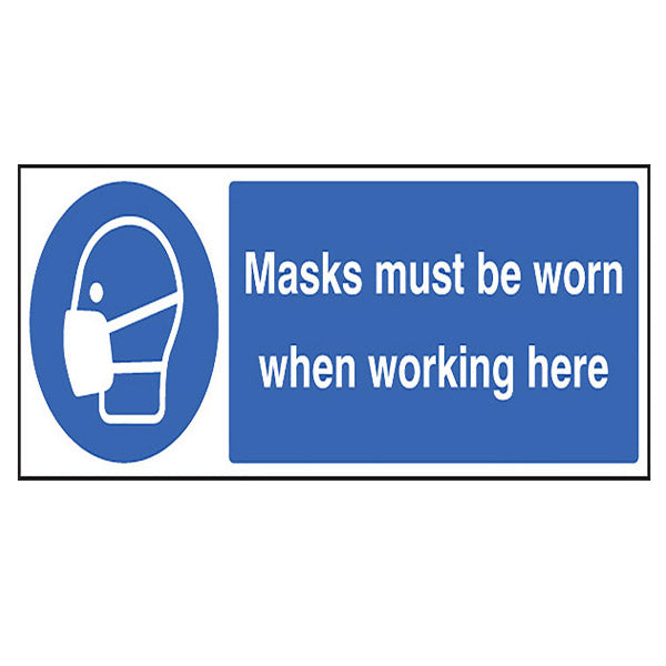 Mask Must Be Worn Quick-Fix Sign