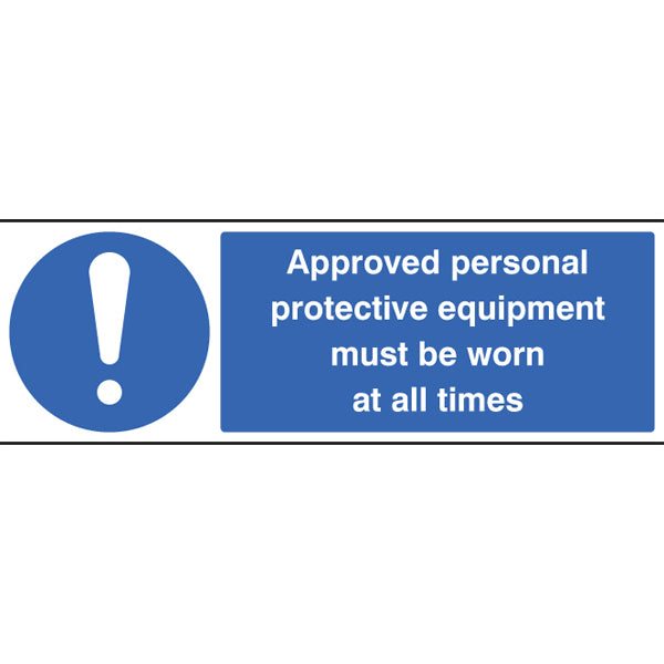 PPE Warning Sign