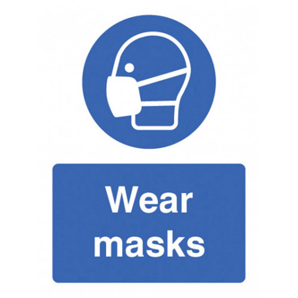 Wear Masks Sign
