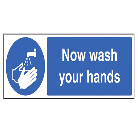 Wash Your Hands Quick-Fix Sign