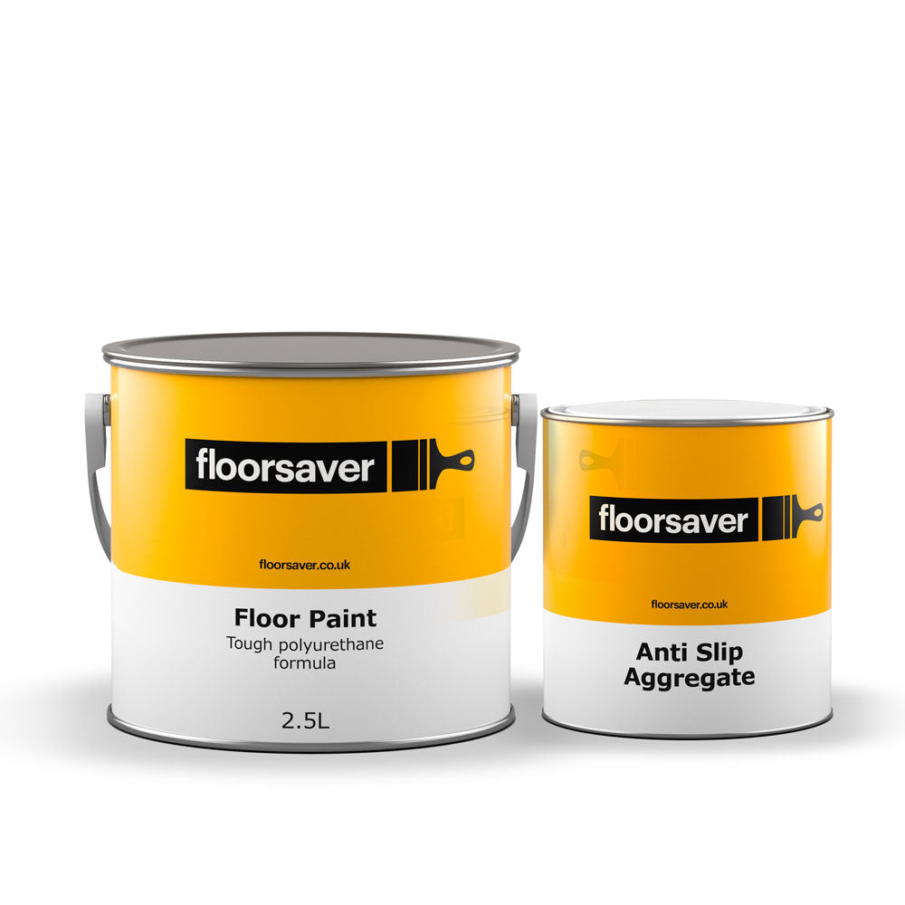 Floor Paint Anti Slip 2 5l Slip Resistant Concrete