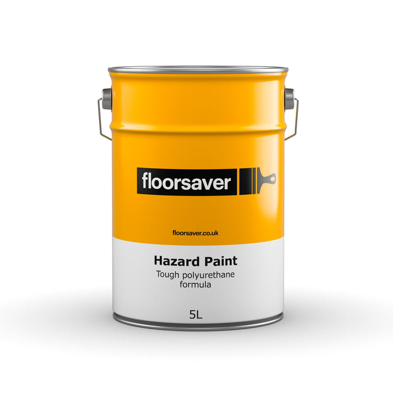 Packshot of floorsaver Hazard Paint 5L