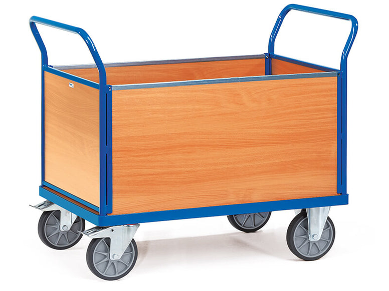 4 Sided Box Modular Platform Cart