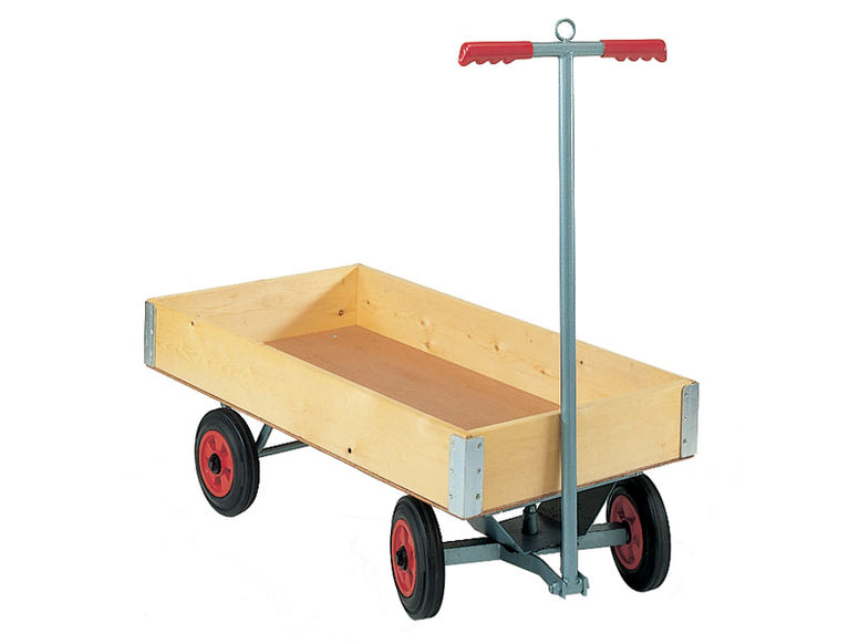 Box Body Four Wheeled Platform Truck