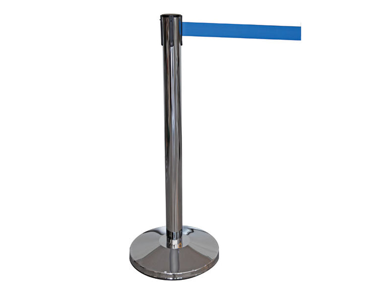 Stainless Steel Post Belt Barriers