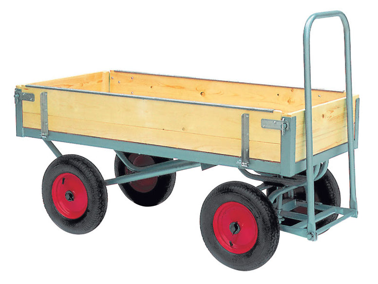 Fixed End and Hinged Side Platform Truck