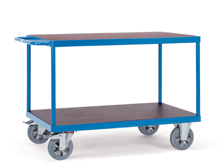 2 Shelf Table Top 1200kg Heavy Duty Trolley