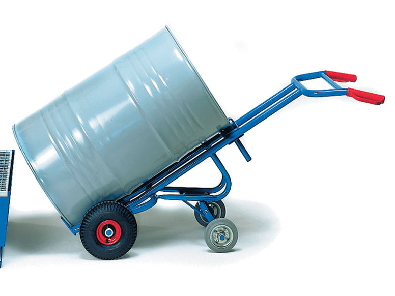 Steel Drum Trolley (2 Castor)