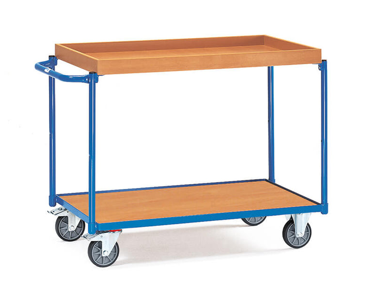 Table Top Cart With Retention Rim