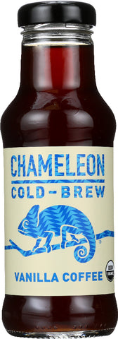 CHAMELEON COLD-BREW: Organic Vanilla Ready to Drink Coffee, 10 oz