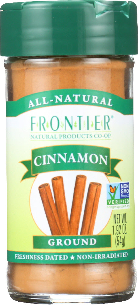 FRONTIER NATURAL PRODUCTS: Cinnamon Ground Korintje, 1.92 oz