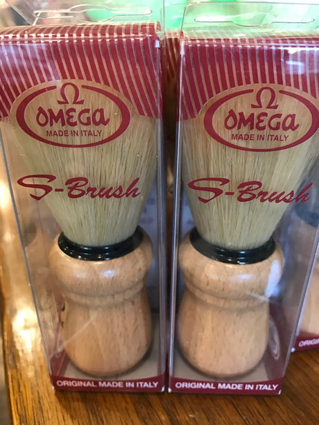 Shave Brush - Synthetic with Wood Handle