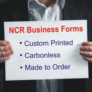 Carbonless NCR Business Forms - Custom Printed