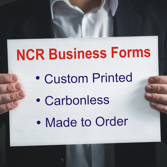 Carbonless NCR Forms Printed