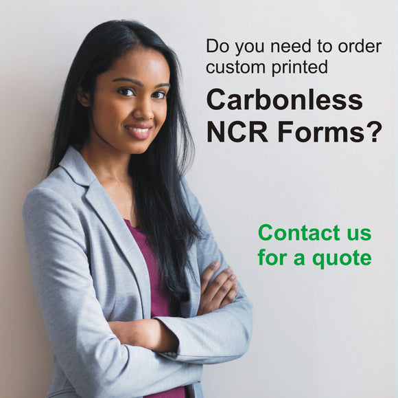Do you need to order Carbonless NCR Forms?
