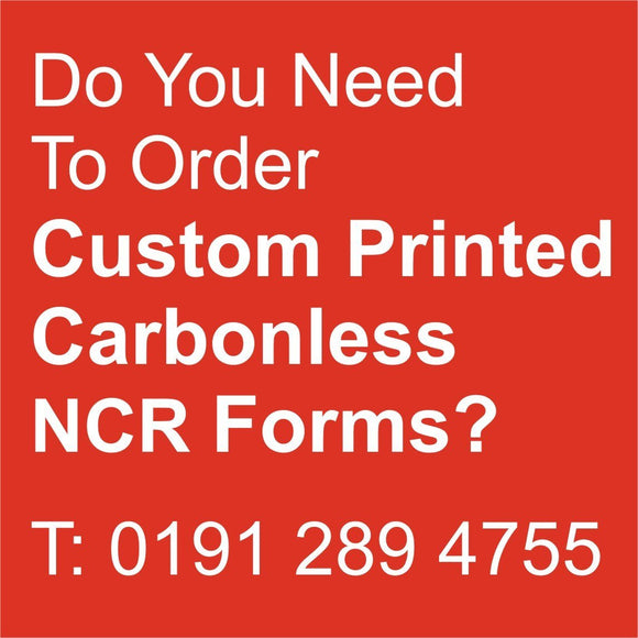 NCR Printing Special Offer - Spend £99.00+ & Get £20.20 OFF!