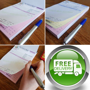 Invoices, Receipts, Job Work Sheets, Transfer Forms etc.