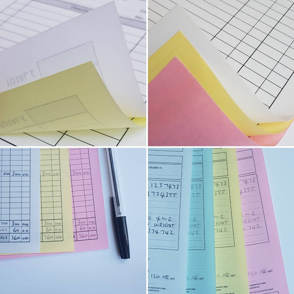 Bespoke Printed Forms - Made to Order for Business Use!