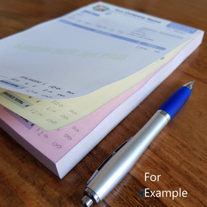 Personalised Job Sheet Pads, Job Sheet Books & Job Sheet NCR Print