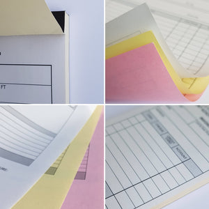 Personalised Maintenance Report Pads Printed. NCR Copy Pads, Books & Sets