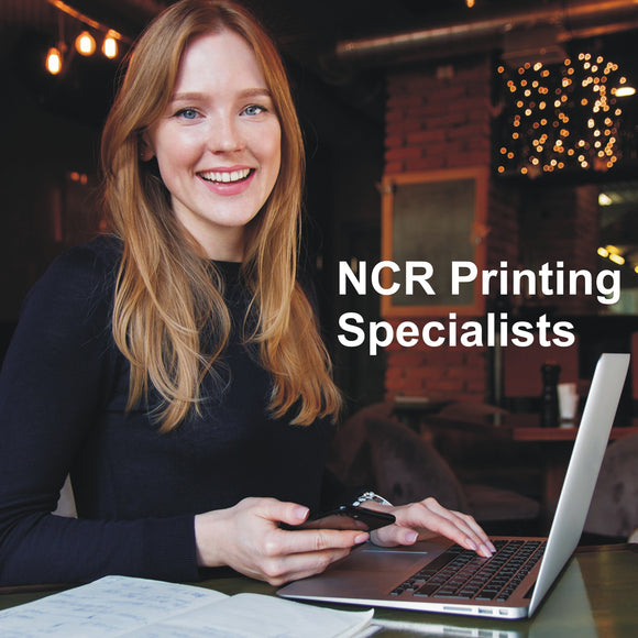 NCR carbonless forms print