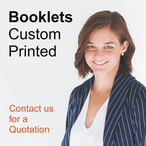 Booklets custom printed
