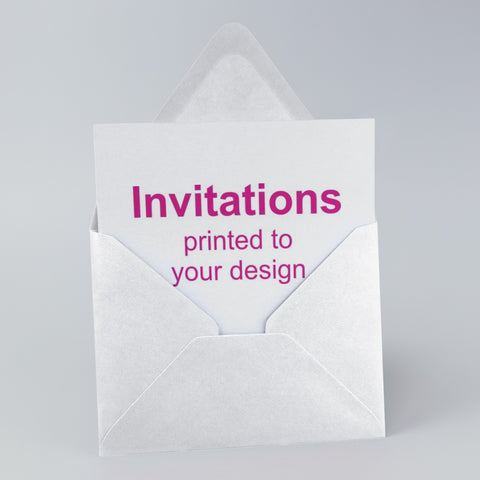 Invitations printed Newcastle