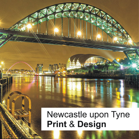 Newcastle upon Tyne - Print and Design