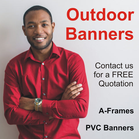 Outdoor Banners & A-Frames North East England