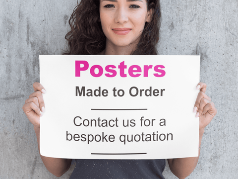 Posters custom made