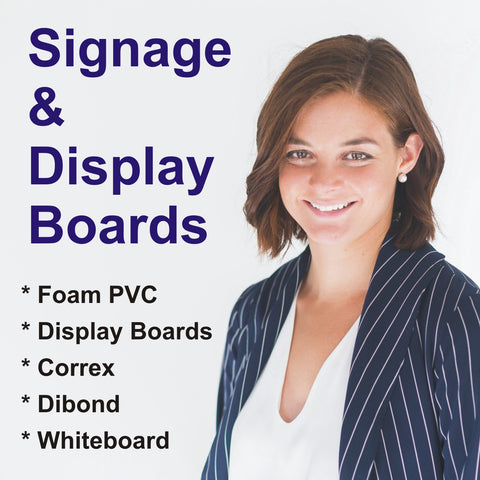 Signage and display boards
