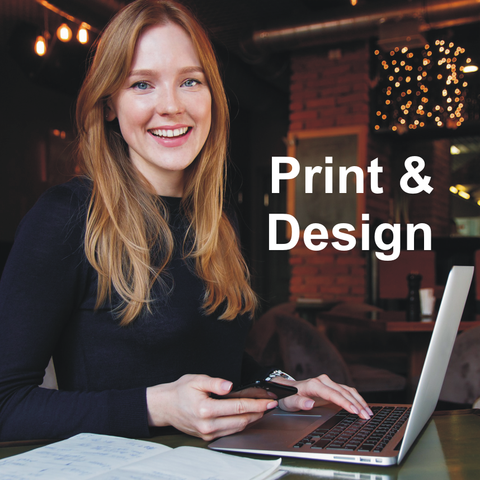 print and design