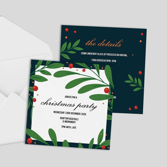Square Invitations Square Invitations MD Print Shop