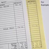 A5 Duplicate NCR Pads (2 part) - MDPrintShop.co.uk