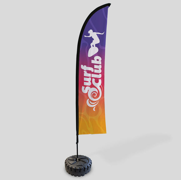 Feather Flags custom printed