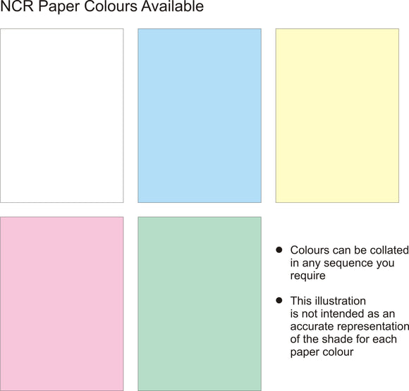 Triplicate NCR Bespoke Paper Sequence Triplicate NCR Bespoke Paper Sequence MDPrintShop.co.uk